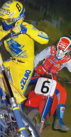 Love the old gear, all the bike colors and looked so good. David Bailey