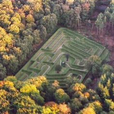 #Labyrinth #maze #ruurlo seen from above