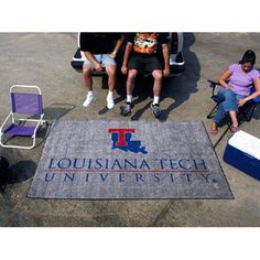 Louisiana Tech Bulldogs NCAA Ulti-Mat Floor Mat (5x8')