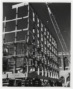 Bunshaft/Beinecke/Construction