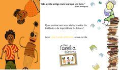 Quer levar Uma Família Diferente à sua escola? Contacte-nos pelo email: lopescatia.lopes@gmail.com