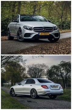 De nieuwe Mercedes-Benz E 200 heeft de juiste balans tussen elegantie, rijcomfort en technologie gevonden. © Bas Fransen