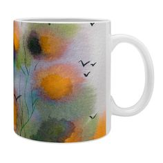 #Abstract #Autumn #Impression @denydesigns  Ginette Fine Art Abstract Autumn Impression Coffee Mug | DENY Designs Home Accessories