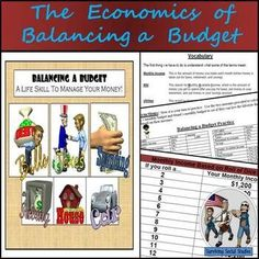 Financial Literacy - Monthly Budget Based on Income. Think your students know how much money it costs to have the things they have at home? Sample Budget, Budget Help, Monthly Budget Planner, Monthly Expenses, School Levels, Financial Literacy, Financial Budget, Managing Your Money, Budgeting Finances