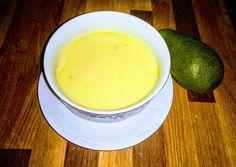 Avokádó öntet salátára recept foto