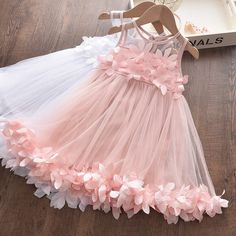 Tulle Dress, Pink Dress, Lace Dress, Types Of Dresses, Cute Dresses, Summer Dresses, Chica Cool, Robes D'occasion, Girls Dresses Online