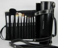 MAC 16 Pcs Makeup Brushes Gift Set Make up Cosmetic Brush Set Kit