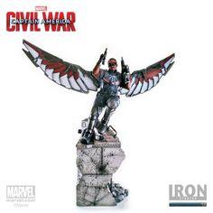 Estátua Falcon 1/4 Legacy Replica - Captain America: Civil War - 75,5 cm - Iron Studios | Comic Store Brasil