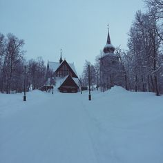 Kiruna Sami Church in North Sweden