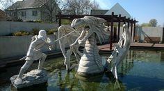 San Giorgio contro il drago San Giorgio, Hungary, Lion Sculpture, Statue, Self, Italia, Art, Sculptures, Sculpture
