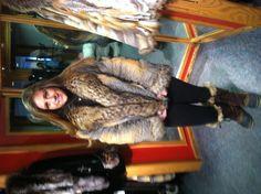 Fox fur coat .....Gorgeous!