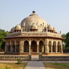 Isa Khan Niyazi's Tomb, New Delhi, India.