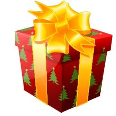 Free christmas clip art gift boxes