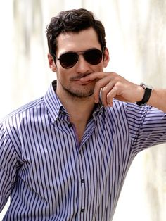 David Gandy.. So Sinful! With this face look me before the university awww