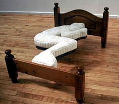 Amazing Beds with Unusual Theme of Bedroom : Crazy Bed Frame Wooden FLoor Amazing Beds