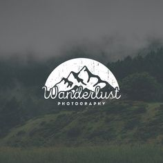 Masculine Logo Design. Vintage Logo. Beer Logo. Manly Logo. Rugged Logo. Masculine Logo. Outline Logo. Typography Logo. Mountain Logo by Jay Darcy for Rogue Logo.