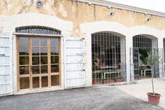 White building, ses escoles Ibiza, old school