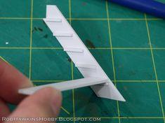 Rob Hawkins Hobby: Terrain Tutorial: Simple Stairs