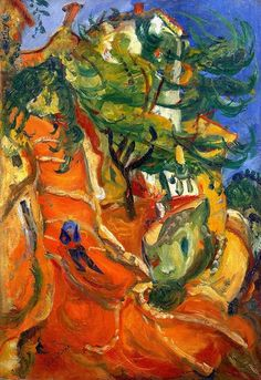 Chaim Soutine, cagnes 1923-4 on ArtStack #chaim-soutine #art