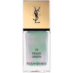 La Laque Couture Nail Lacquer Spring Collection  | YSL (€25) ❤ liked on Polyvore featuring beauty products, nail care, nail polish, yves saint-laurent nail polish and yves saint laurent