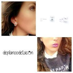 Descubre lo más nuevo de la semana Pendientes doble perla blanca (2€) Consíguelos en nuestra #tiendaonline deplanoodetacon.com  #deplanoodetacon #pendientes #haztupedido ❤Te vas a enamorar❤