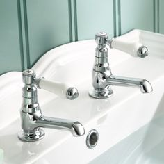 iBathUK Traditional Twin Basin Sink Hot and Cold Taps Pair Chrome Bathroom Faucet TB134 No description http://www.comparestoreprices.co.uk/december-2016-6/ibathuk-traditional-twin-basin-sink-hot-and-cold-taps-pair-chrome-bathroom-faucet-tb134.asp