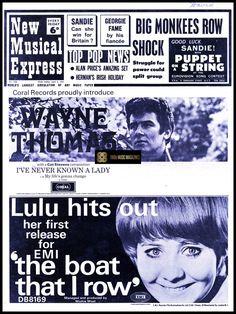 Sandie Shaw, Walker Brothers, Jimi Hendrix Experience, Cat Stevens, Uk Music, Eurovision Songs, News 6, Music Magazines, Vintage Music