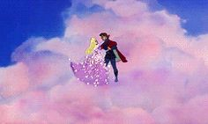 Aurora And Phillip in the Cloudes