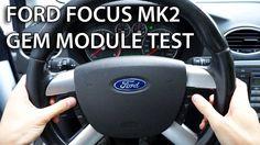 How to test GEM module in #Ford #Focus MK2 / #CMax (car diagnostics)