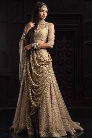 Image result for unique bridal saree trends for 2017
