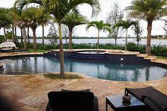 Love this pool and deck.