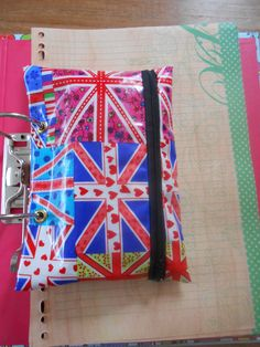 oil cloth, zippered, 2 grommets, www.facebook.com/BeadsBraidsAndBows 2 Ring Binder, Pencil, Gift Wrapping, Oil, Facebook, Gifts, Gift Wrapping Paper, Presents, Wrapping Gifts