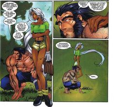 X-Men Storm Comic Vine | Storm and Wolverine
