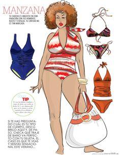 Bikinis para el cuerpo de manzana #VVLC