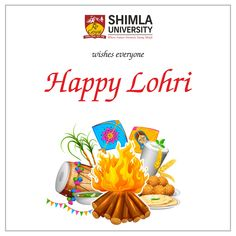 Celebrated as the advents of winter season and beginning of autumn, the people celebrate the festival of Lohri, Bonfire. Consider to be an auspicious occasion the students and faculty of Shimla University wishes everyone a very happy and warm Lohri.
