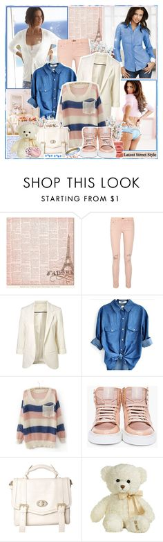 """Adriana Lima"" by ellchy89 ❤ liked on Polyvore featuring Victoria's Secret, Lost & Found, rag & bone/JEAN, Ladurée, Yves Saint Laurent, Aurora World, Alexis Bittar and Charbonnel et Walker"