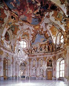 Kaisersaal (Imperial Hall), Würzburg Residenz, Würzburg, Germany