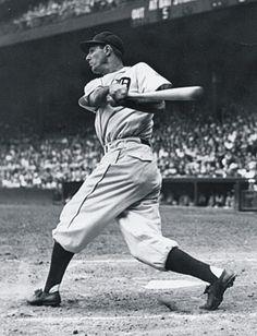 Hank Greenberg, Detroit Tiger great and Hall of Famer.