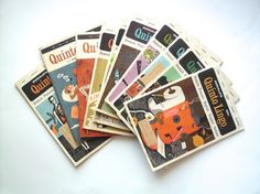 Lot of Vintage Rodale's Quinto Lingo Magazines, 1965, 1967 by PoorLittleRobin