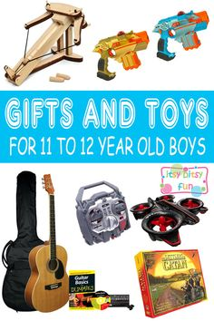 Best Gifts For 11 Year Old Boys. Lots of Ideas for 11th Birthday, Christmas and 11 to 12 Year Olds