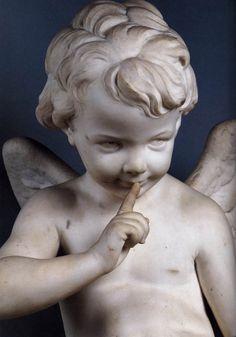 Cupid (detail) FALCONET, Étienne-Maurice (b. 1716, Paris, d. 1791, Paris) 1757 Marble Musée du Louvre, Paris