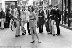 London's Carnaby Street (pictured), in the early Sixties, had a couple of shops which sold daring clothes for guys & girls.