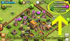 Trucchi Clash of Clans gemme infinite. Clash of clans gemme gratis per Android e iOs! Gemas Clash Of Clans, Clash Of Clans Android, Clash Of Clans Cheat, Google Play, Ios, Coc Hack, Clan Games, Point Hacks, Private Server