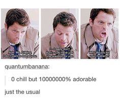 I love Cas with all my heart