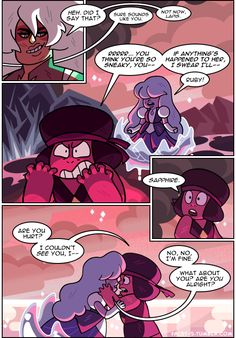 facet-5:  plot twist: Ruby and Sapphire were sent to earth to get a room  PREVIOUSLY