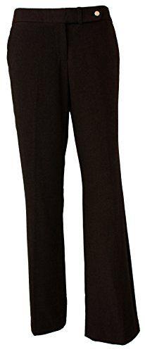 0dea2b10c565 Calvin Klein Women s Classic Fit Dress Pants Heather Brown 4 x 33L - http
