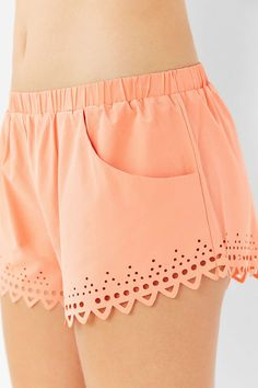 Without Walls Laser-Cut Short