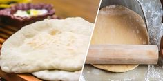 Pão sírio integral: Receita completa | Portal Tudo Aqui Pretzel, Dairy, Food And Drink, Cheese, New Recipes, Veg Recipes, Tasty Food Recipes, Rice, Meals
