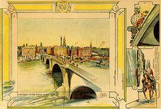 Paper Toy - Diorama - London Bridge