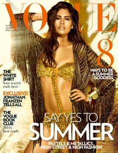 Ashika Pratt - Vogue Magazine Cover [India] (May Vogue Magazine Covers, Fashion Magazine Cover, Vogue Covers, Summer Goddess, Summer Club, Summer 2014, Summer Beach, Vogue India, Next Top Model